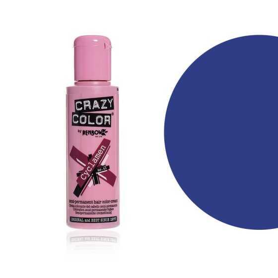 CRAZY COLOR CREMA COLORANTE SEMIPERMANENTE 44 CAPRI BLUE