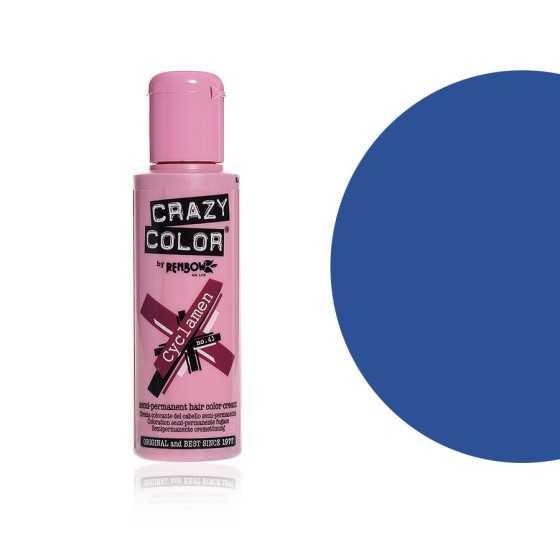 CRAZY COLOR CREMA COLORANTE SEMIPERMANENTE 59 SKY BLUE
