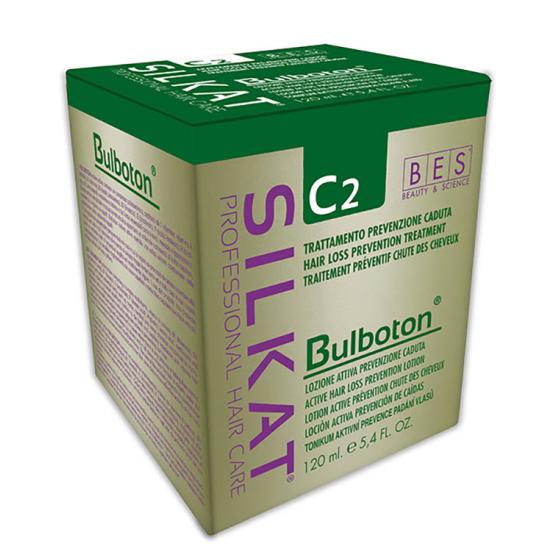 BES SILKAT BULBOTON C2 LOZIONE ATTIVA PREVENZIONE CADUTA 12FIALE
