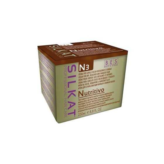 bes silkat n3 maschera nutritiva ristrutturante mineralizzante 250ml