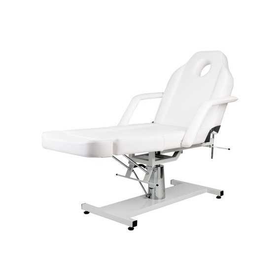 labor poltrona/lettino massaggio con pompa a gas + sgabello