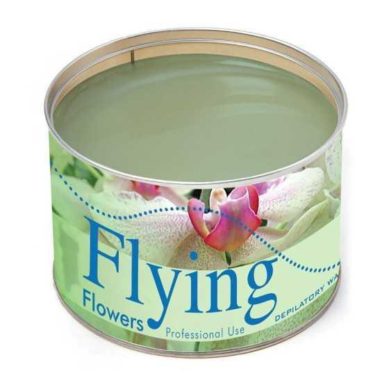 FLYING CERA DEPILATORIA LIPOSOLUBILE FLOWERS 400 ML