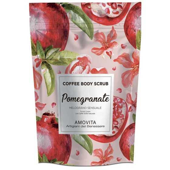 AMOVITA COFFE BODY SCRUB MELOGRANO SENSUALE 200GR