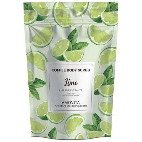 AMOVITA COFFE BODY SCRUB LIME ENERGIZZANTE 200GR