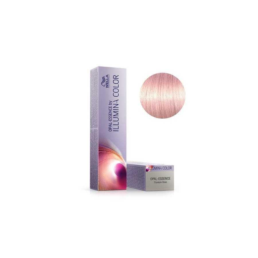 WELLA ILLUMINA COLOR OPAL ESSENCE - TITANIUM ROSE 60 ML