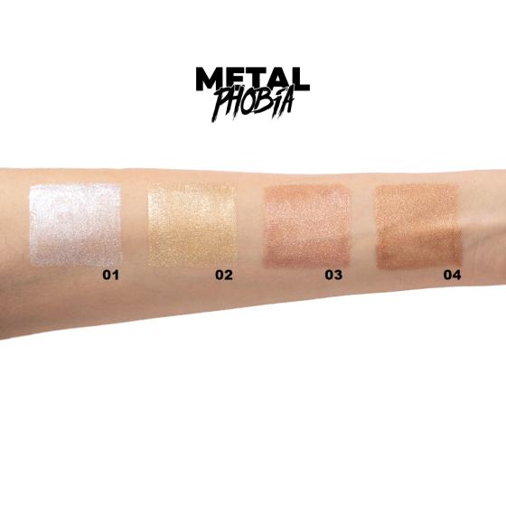 layla metal phobia ombretto liquido metallico