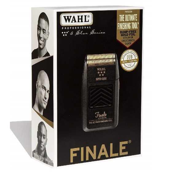 wahl rasoio finale elettrico 5 star