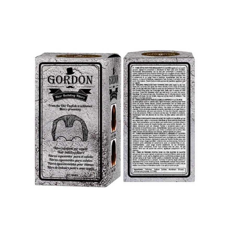 GORDON FIBRE INFOLTENTI COLORE NERO 22GR