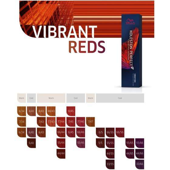 WELLA KOLESTON PERFECT ME+ VIBRANT REDS 60ML