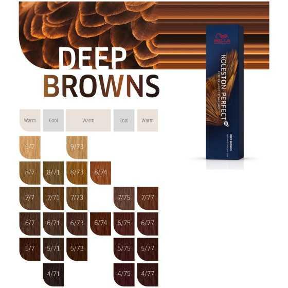 WELLA KOLESTON PERFECT ME+ DEEP BROWN 60ML