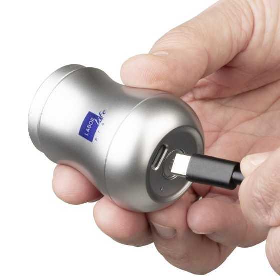 labor minishaver rasoio portatile con testina rotante