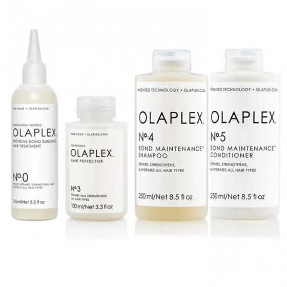 olaplex kit ricostruzione capelli danneggiati 0-3-4-5