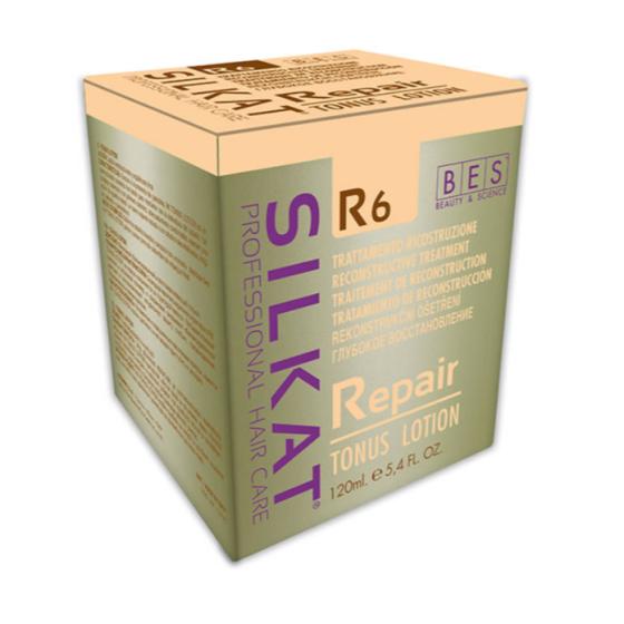 bes silkat r6 repair tonus lotion lozione trattamento ricostruzione 12 fiale