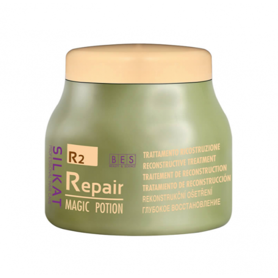 bes silkat r2 repair magic potion maschera trattamento ricostruzione 500ml