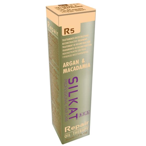 bes silkat r5 repair oil therapy olio argan ricostruzione 50ml