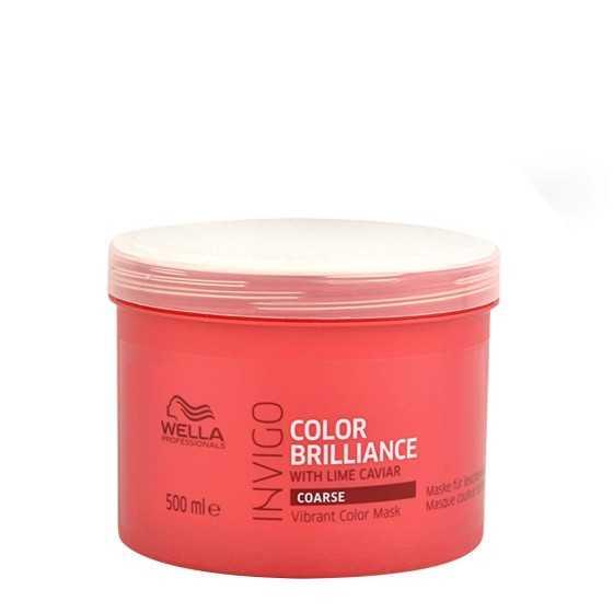 wella invigo color brilliance maschera capelli colorati grossi 500ml