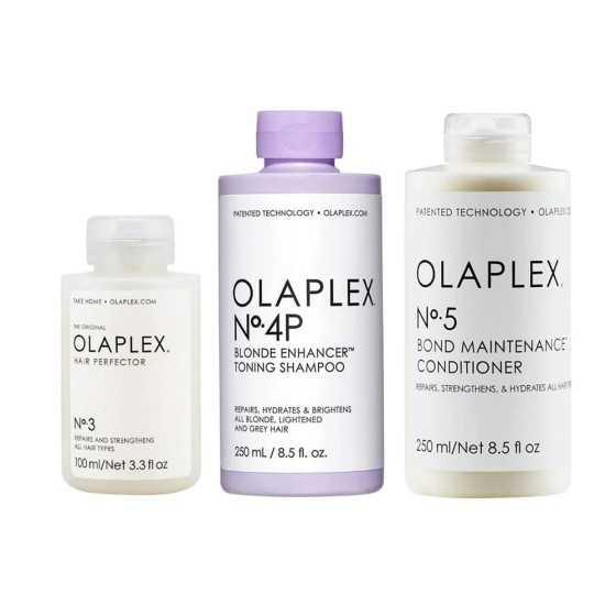Olaplex Kit Tonalizzante Antigiallo Idratante 3-4p-8