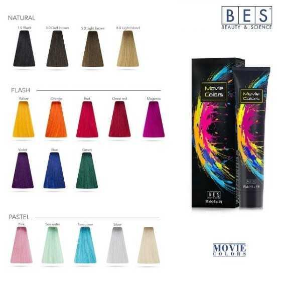 bes movie colors colorazione diretta 170ml