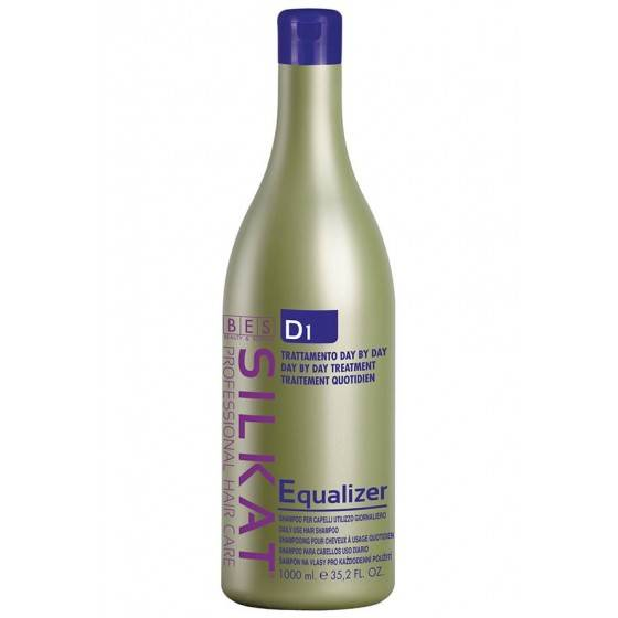 BES SILKAT D1 SHAMPO DAY BY DAY EQUALIZER LAVAGGI FRAQUENTI 1000ML