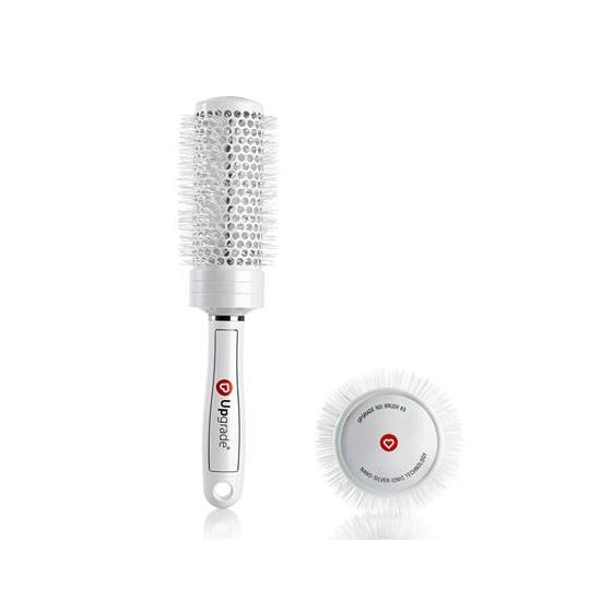 upgrade spazzola termica nano silver ionic brush 65 mm